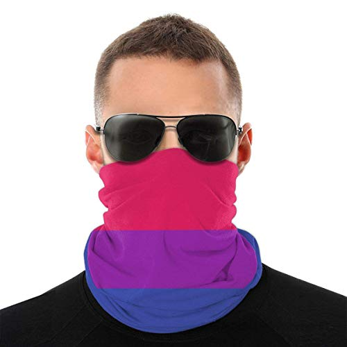 EU Unicornios Rainbow Face Bufanda Máscara Pañuelo