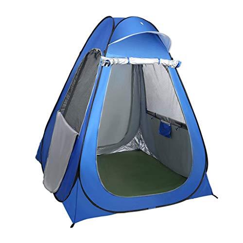 Carpa de privacidad portátil instantánea, carpa de ducha emergente para campamento, baño de campamento, vestuario, refugio para la lluvia con ventana para campamento y playa plegable con bolsa de