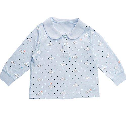 DQQ DQQ Baby Jungen (0-24 Monate) Schlafanzugoberteil Gr. S , Hellblau