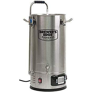 Brewer's Edge Mash and Boil with Pump | All Grain Home Brewing System 7.5 Gallon