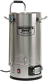 brewers edge mash and boil with pump