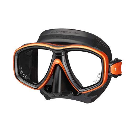 Tusa duikmasker Freedom Ceos snorkel, duikbril, compatibel met optische glazen, volwassenen