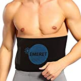 EMERET Premium Waist Trimmer Belt for Men & Women – Ideal Waist Trainer