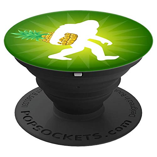 Bigfoot Pineapple Green Ombre - PopSockets Grip and Stand for Phones and Tablets