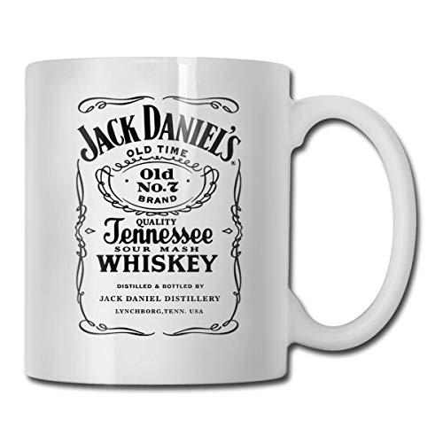 Jack Daniels alte Zeit lustige Kaffeetasse - lustige sarkastische Tasse - 11oz Kaffeetasse - lustige Büro-Tasse Chanukka-Geschenk für Männer u. Frauen, die Tee-Tassen u. Kaffeetassen lieben