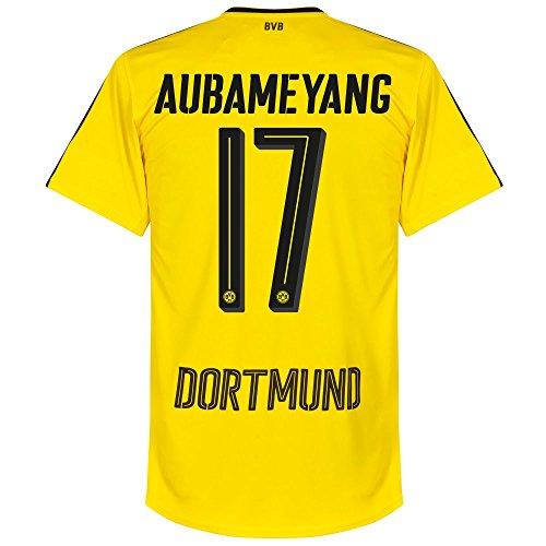 Borussia Dortmund Home Trikot 2016 2017 + Aubameyang 17 - XXL