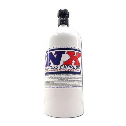Nitrous Express 11100 Nitrous Bottle with Standard L45 Valve - 10 lbs.