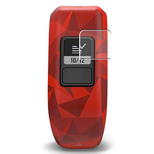 Vaxson 3 Unidades Protector de Pantalla, compatible con Garmin Vivofit Jr smartwatch Smart Watch [No Vidrio Templado] TPU Película Protectora