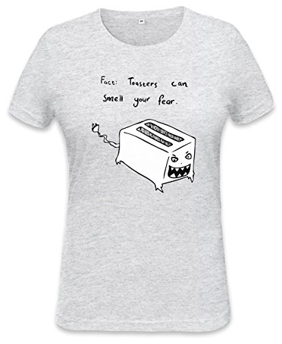 Toasters Can Smell Your Fear Womens T-shirt Small