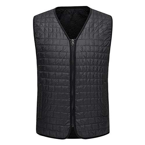 Cuffslee Elektrisch verwarmd vest, verwarmt koudebestendige kleding wasbaar drie niveaus aanpassing massage vest