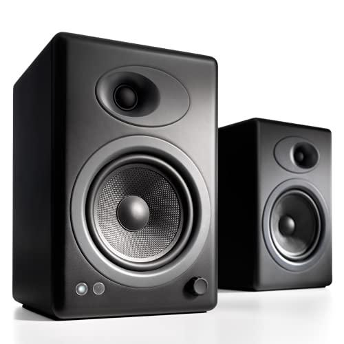 Audioengine A5+ (Plus) Powered Speaker   Desktop Monitor Speakers Comp...