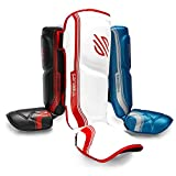 Sanabul Core Advanced Series Hook and Loop Strap Kickboxing Muay Thai MMA Shin