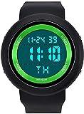 NLRHH Reloj electrónico Individual para Hombres y Mujeres P