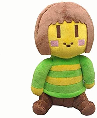 NC88 Plush Toys Undertale Chara & Frisk Plush Doll Toy Soft Stuffed Toys for Children Kids 20Cm