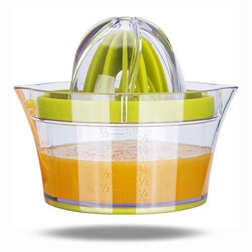 LHKJ 4 en 1 Exprimidor de Limón Multifunción Exprimidor Zumo Manual para Naranja Limón Cítricos,...