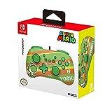 Conçu pour les jeunes joueurs Inclus les boutons Home, Capture et + / - Design Super Mario tout en couleurs! Modèle vert aux couleurs de Yoshi! Licence Officielle Nintendo