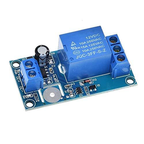 Componentes electrónicos manuales 12V interruptor del tacto de 1 Canal táctil capacitiva Módulo de relé
