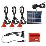EVTSCAN Kit de generador Solar portátil, energía de Emergencia...