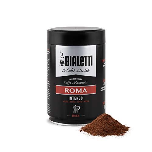 Bialetti Caffè Macinato per Moka Roma, Gusto Intenso - 1 x 250 gr