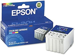 Epson T001011 Ink, 330 Page-Yield, Tri-Color (Cyan, Magenta, Yellow)