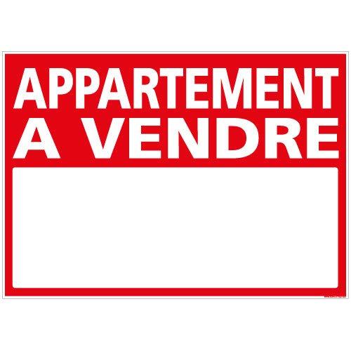 Panneau - Appartement A Vendre - Plastique rigide AKILUX 3,5mm - Dimensions 700 x 500 mm - Protection Anti-UV