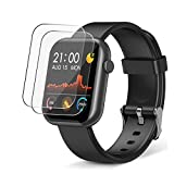 【2 Pack】Screen Protector for Tekpluze R3L smartwatch 1.3' PET Flexible HD Film Protective Protectors [Not Tempered Glass]