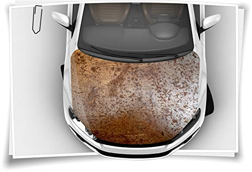 Medianlux Rost Blech Alt Verostet Stahl Motorhaube Auto-Aufkleber Steinschlag-Schutz-Folie Airbrush Tuning Car-Wrapping Luftkanalfolie Digitaldruck Folierung