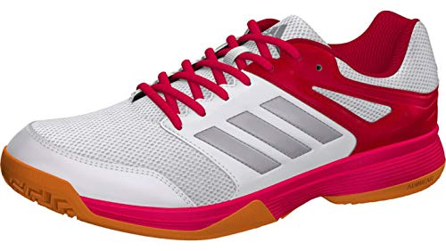 adidas Damen Fitnessschuhe, Mehrfarbig (Ftwbla/Pltémé/Rosfue 000), 38 EU