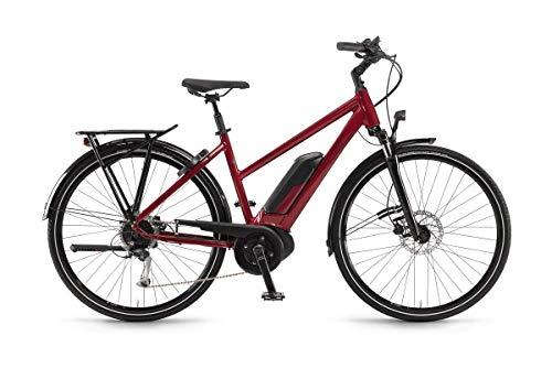 Unbekannt Winora Tria 9 500 Damen Pedelec E-Bike Trekking Fahrrad rot 2019: Größe: 44cm