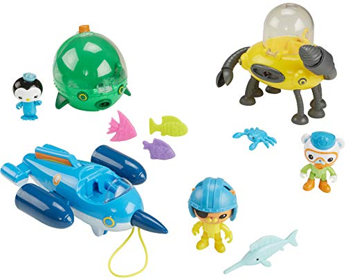 Fisher-Price Octonauts Gup Fleet Mega Pack