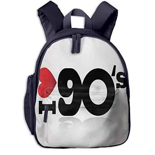 Kinderrucksack Kleinkind Jungen Mädchen Kindergartentasche 90er 23 Backpack Schultasche Rucksack