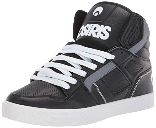 Osiris Men's Clone Skate Shoe, Black/White, 6.5 M US