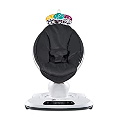 5 unique motions & speeds Bluetooth Enabled - control motion & sound 4 built-in sounds & MP3 plug-in Smooth, woven nylon material Machine washable seat fabric AC Adaptor - no batteries required Adjustable seat recline Birth up to 25 lbs (or when baby...