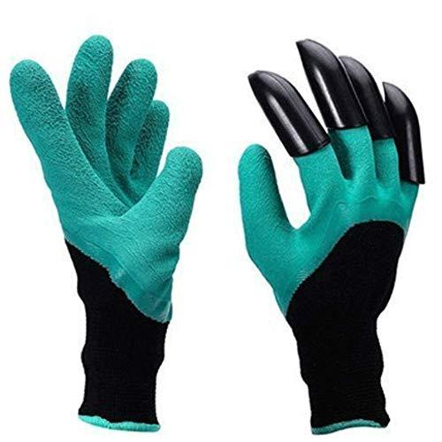 Eiito garten handschuhe mit krallen, garten handschuhe mit krallen garden genie gloves gartenhandschuhe
