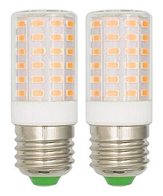 E26 7W LED Light Bulbs 100 Watt Equivalent Warm White 3000k Home Lighting Eye Protect 85 CRI 950 Lumens 100-265 V Edison Candelabra E26/E27 Medium Screw Base Non-Dimmable - 2 Pack