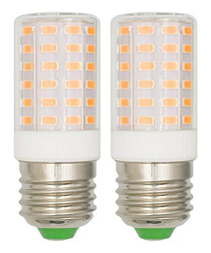 E27 7W LED-Glühbirnen 100 W Äquivalentes Warmweiß 3000k Augenschutz für Heimbeleuchtung 85 CRI 950 Lumen 100-265 V Edison-Kandelaber E27 Mittlerer Schraubsockel nicht dimmbar - 2 Pack [MEHRWEG]