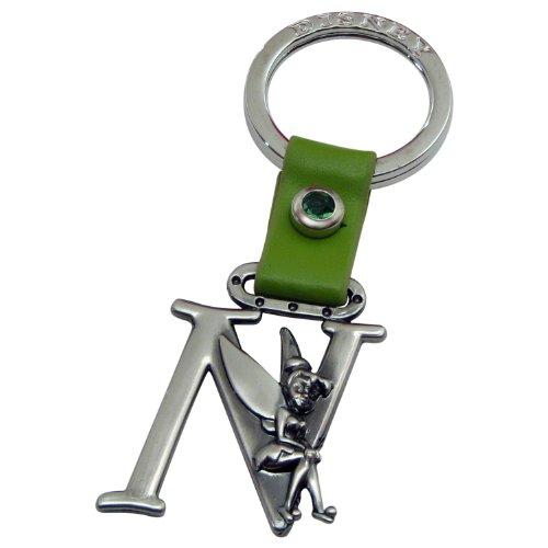 Tinker Bell Buchstabe N Zinn Schlüsselanhänger