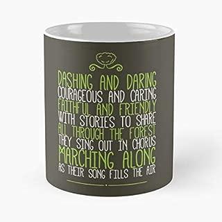 Gummi Bears Theme Song Lyrics Classic Mug - 11 Oz Coffee Mug- Unique Birthday Gift The Best Gift For Holidays.