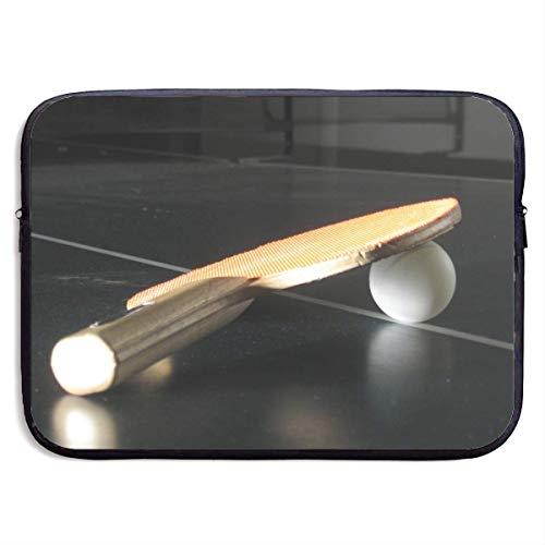 Funny Z Wasserdichte Laptop Hülle Tischtennis Druck Geschäfts Aktenkoffer Schutztasche Computer Kasten Abdeckung 13×10 Zoll