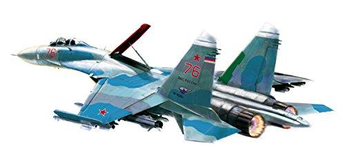 プラッツ 1/72 Su-27SM フランカーB プラモデル AE-2
