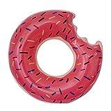 fondosub Flotador Rueda Donuts Mordido Infantil 60 cm (49434), Rosa, Marrón
