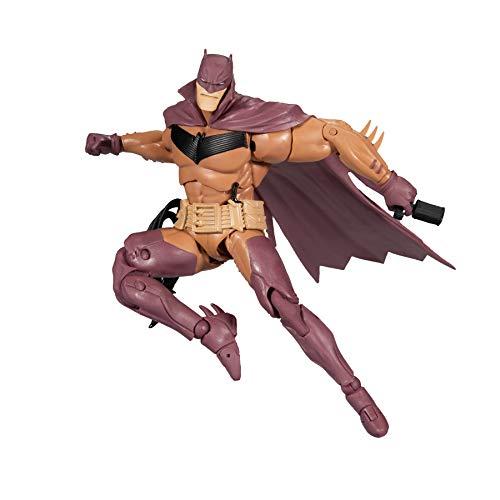 McFarlane DC Multiverse - Figura de Batman de Caballero Blanco de 7 Pulgadas, Color Rojo Variant Eddition