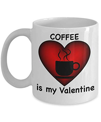 N\A Taza de café recién Soltera, Regalo del día de Happy St Galentines, Be my Galentine, recientemente después del Divorcio, Regalos de mordaza para Mujeres Hombres, felizmente divorciados, Valentin