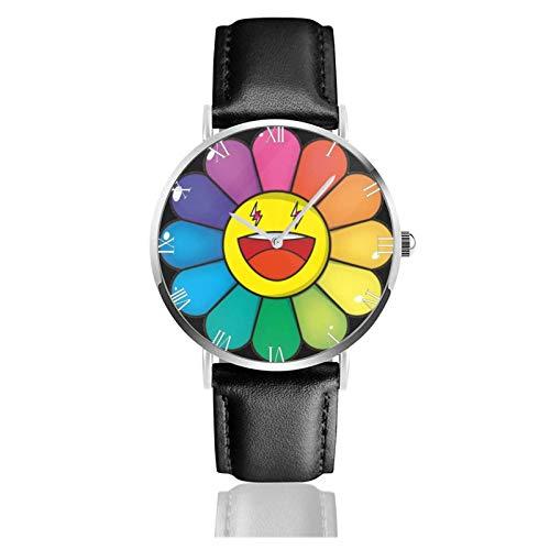 Relojes Anolog Negocio Cuarzo Cuero de PU Amable Relojes de Pulsera Wrist Watches J Balvin Multicolor Colores