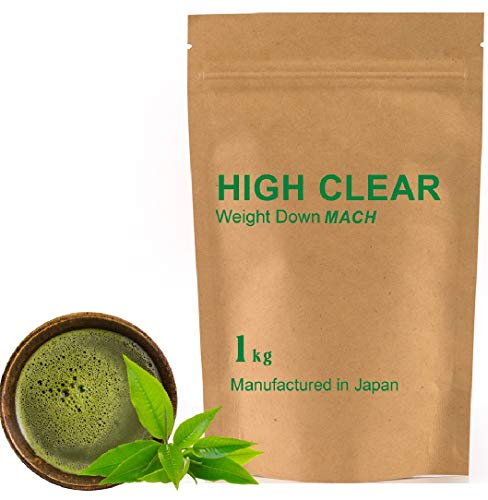 HIGH CLEAR ウェイトダウンマッハ 本格抹茶 1kg(約40食分)