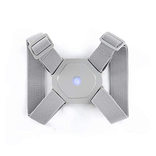 Jinqiuyuan Intelligent Posture Corrector Electronic Reminder Back Support Adjustable Smart Brace Support Belt Shoulder Training Belt (Color : Octagon)