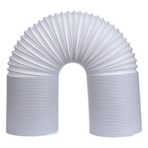 Proglam Abluftschlauch für Klimaanlagen, flexibel, 1,5 m/2 m, Lüftungsauslass 130/150 mm, 2m x 13cm