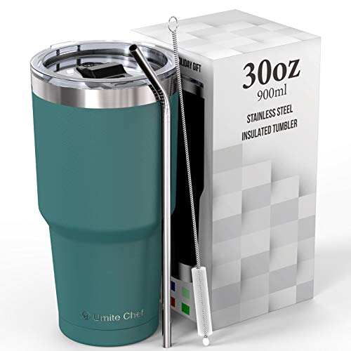 Umite Chef 30 oz Stainless Steel Vacuum Insulated...