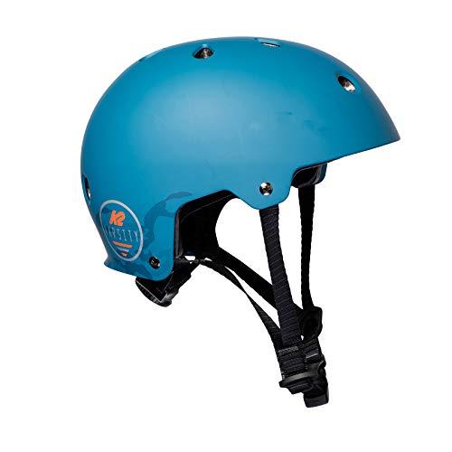K2 Skates Unisex– Erwachsene VARSITY PRO Helm, Blue, S (48-54cm)