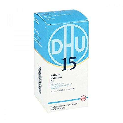 DHU Schüßler-Salz Nr. 15 Kalium jodatum D6 Tabletten, 420 St. Tabletten